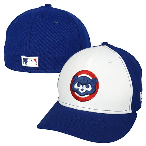Chicago Cubs 84 Logo Two-Tone Low Crown 59FIFTY Fitted Cap fc18eff6d6e