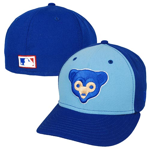 Chicago Cubs 69 Logo Two-Tone Low Crown 59FIFTY Fitted Cap 4387c0532ae