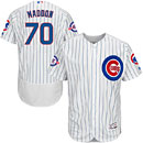 Chicago Cubs Joe Maddon Flexbase Home Authentic Collection Jersey w/ Wrigley 100 Years Patch