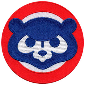 Chicago Cubs 1984 Bear Face Logo Patch