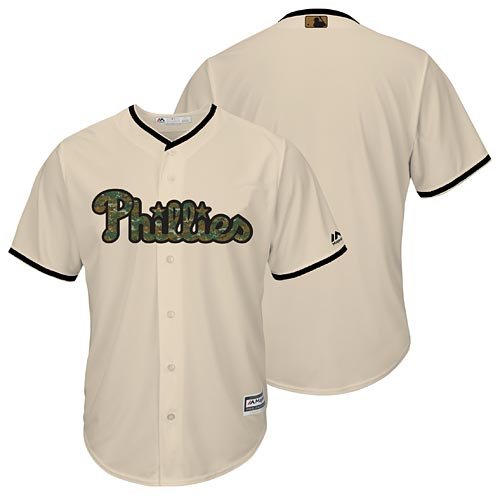 Philadelphia Phillies 2016 Memorial Day Cool Base Replica Jersey 320a80239b5