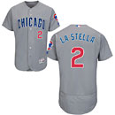 Chicago Cubs Tommy La Stella Road Flexbase Authentic Collection Jersey