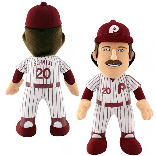 Image result for mike schmidt plushy doll