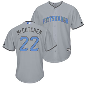 Pittsburgh Pirates Andrew McCutchen 2016 Father's Day Cool Base Replica Jersey