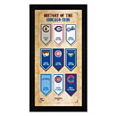 Chicago Cubs Team History Miniframe