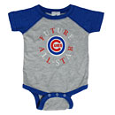 Chicago Cubs Newborn Vintage Baseball Creeper