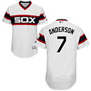 Chicago White Sox Tim Anderson Alternate White Flexbase Authentic Collection Jersey