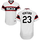Chicago White Sox Robin Ventura Alternate White Flexbase Authentic Collection Jersey