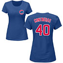 Chicago Cubs Willson Contreras Ladies Name and Number T-Shirt