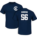 Chicago Cubs Hector Rondon Navy Name and Number T-Shirt
