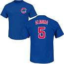 Chicago Cubs Albert Almora Jr. Youth Name and Number T-Shirt