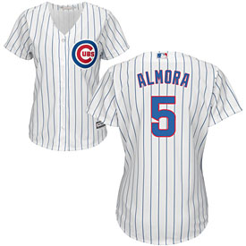 Chicago Cubs Albert Almora Jr. Ladies Home Cool Base Replica Jersey