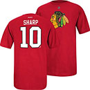 Chicago Blackhawks Patrick Sharp Name and Number T-Shirt