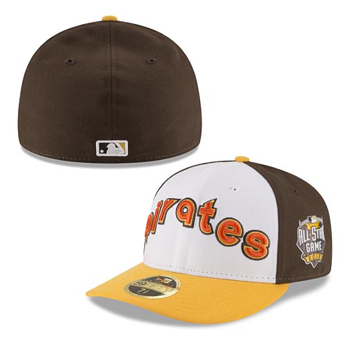 d0c5ce85fc4 Pittsburgh Pirates 2016 Home Run Derby Authentic Collection Low Profile  59FIFTY Fitted Cap with Patch