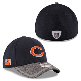 Chicago Bears 2016 Training Camp 39THIRTY Flex Fit Cap