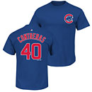Chicago Cubs Willson Contreras Name and Number T-Shirt