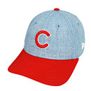 Chicago Cubs Youth The League Heathered Snapback Adjustable Cap
