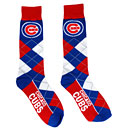 Chicago Cubs Ladies Lineup Argyle Crew Socks