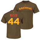 Chicago Cubs Anthony Rizzo Youth 2016 All-Star Game Name and Number T-Shirt