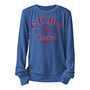 Chicago Cubs Ladies Knit Pullover Lightweight Sweater
