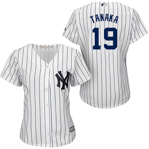 New York Yankees Masahiro Tanaka Ladies Home Cool Base Replica Jersey 0e135a67315