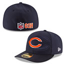 Chicago Bears 2016 Sideline Official Low Profile 59FIFTY Fitted Cap