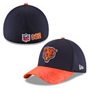 Chicago Bears 2016 Sideline Classic 39THIRTY Flex Fit Cap