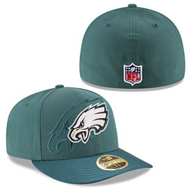 Philadelphia Eagles 2016 Sideline Official Low Profile 59FIFTY Fitted Cap