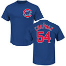 Chicago Cubs Aroldis Chapman Name and Number T-Shirt
