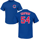 Chicago Cubs Aroldis Chapman Youth Name and Number T-Shirt