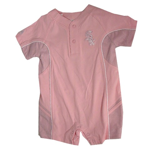 Chicago White Sox Pink Infant Creeper