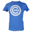 Chicago Cubs Royal Tonal Ballpark Full Chest Logo T-Shirt