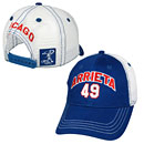 Jake Arrieta Trucker Snapback Adjustable Cap