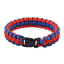 Red and Blue Paracord Bracelet