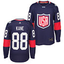 USA Hockey Patrick Kane 2016 World Cup of Hockey Premier Jersey