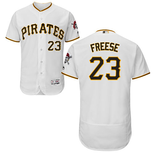 ca03139db Pittsburgh Pirates David Freese Home Flexbase Authentic Collection Jersey