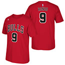 Chicago Bulls Rajon Rondo Red Name and Number T-Shirt