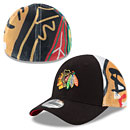 Chicago Blackhawks Kids Logo Wrapped 39THIRTY Flex Fit Cap