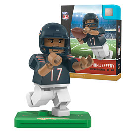 Chicago Bears Alshon Jeffery OYO Sports Minifigure
