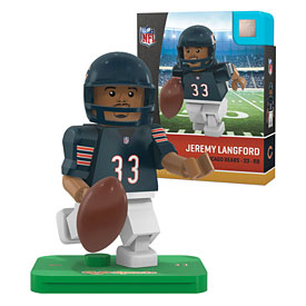 Chicago Bears Jeremy Langford OYO Sports Minifigure