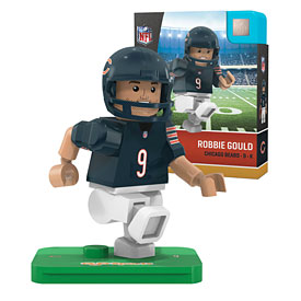Chicago Bears Robbie Gould OYO Sports Minifigure