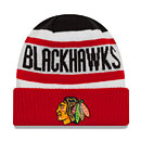 Chicago Blackhawks Youth Biggest Fan 2.0 Knit Hat