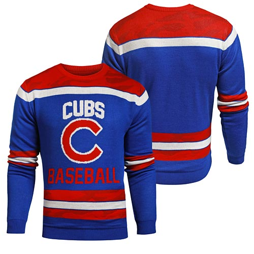 9c014398d18 Chicago Cubs Team Camo Ugly Sweater