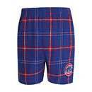 Chicago Cubs Mens Ultimate Flannel Boxers