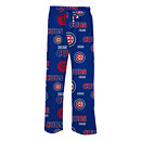 Chicago Cubs Mens Sweep All Over Logo Sleep Pants
