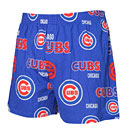 Chicago Cubs Mens Sweep All Over Logo Boxers