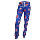 Chicago Cubs Ladies Sweep All Over Logo Sleep Pants
