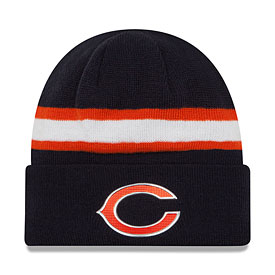 Chicago Bears Color Rush Cuffed Knit Hat