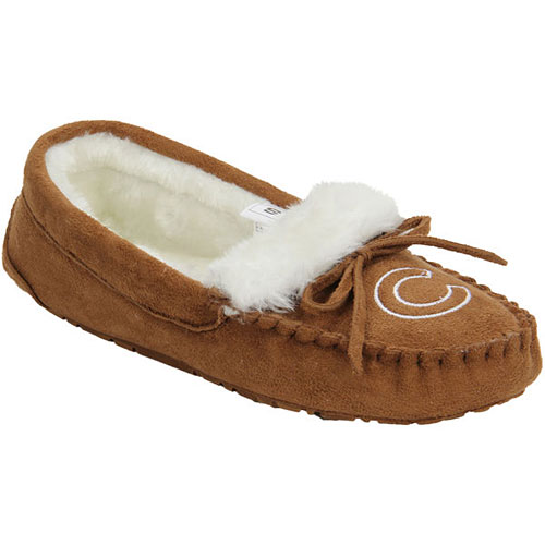Chicago Cubs Ladies Moccasin Slippers