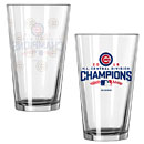 Chicago Cubs 2016 NL Central Division Champions 16oz. Satin Etch Pint Glass